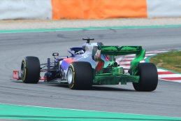 Flow Viz Daniil Kvyat - Scuderia Toro Rosso