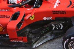 Barge board Charles Leclerc - Ferrari