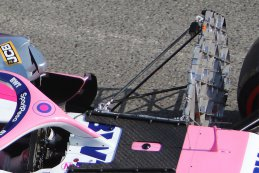 Meetapparatuur op Lance Stroll - Racing Point