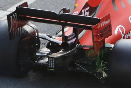 Achterzijde Charles Leclerc - Ferrari