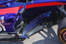 Barge boards & Flow Viz Alexander Albon - Scuderia Toro Rosso