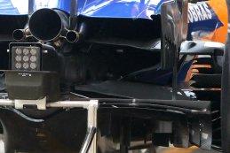Achterkant Carlos Sainz - McLaren