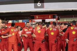 Ferrari F1 Team ambiance