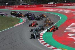 Start - Spaanse Grand Prix