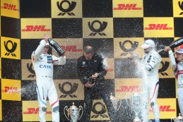 Podium DTM Race 1 Zolder