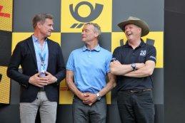 David Coulthard, Kris Nissen & Eric van de Poele