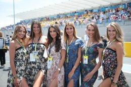 Gridgirls F1 Grote Prijs van Frankrijk