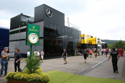 Paddock 2019 F1 GP België