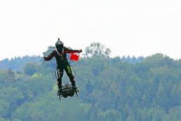 Zapata tijdens de GP van Belgie