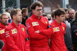 Charles Leclerc - Sebastian Vettel -  Ferrari - Mattia Binotto