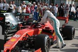 Charles Leclerc - Ferrari - Lewis Hamilton