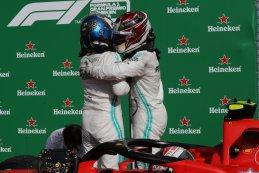 Valtteri Bottas - Lewis Hamilton - Mercedes 2019
