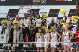 Algemeen podium 24 Hours of Zolder 2015