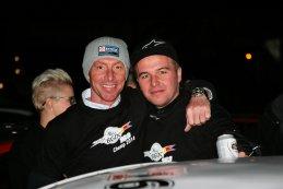 Bert Longin met zoon Stienes