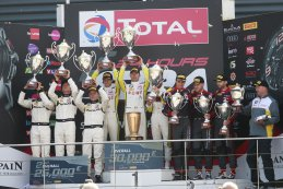 Algemeen podium 24 Hours of Spa 2016