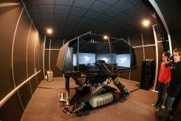 De GP2-simulator van ART Grand Prix