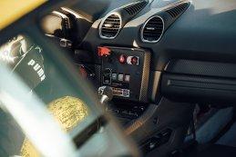 Interieur Porsche 718 Cayman GT4 Clubsport
