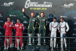 Podium 2019 6 Hours of Spa LMGTE Pro