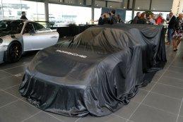 Porsche onder doek