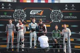 Algemeen podium Monza