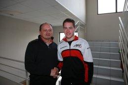 Teambaas Frederic Vasseur en Stoffel Vandoorne