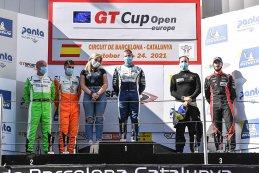 Podium 2021 GT Cup Open Barcelona R2