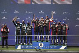 Podium WEC 6 Hours of Spa 2021