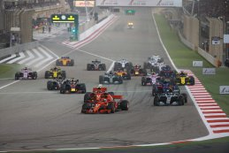 Start F1 GP van Bahrein 2018