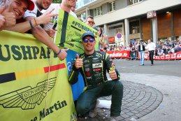 Maxime Martin op de parade bij zijn fans