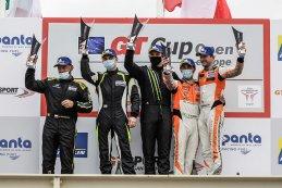 Algemeen podium 2021 GT Cup Open Paul Ricard