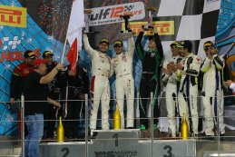 Algemeen podium Gulf 12 Hours 2019