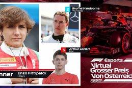 Top drie Virtual Grand Prix Red Bull Ring