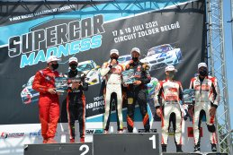 Podium 2021 Supercar Challenge Zolder Race 1
