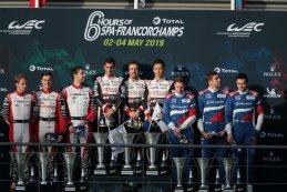 Podium 2019 6 Hours of Spa LMP1