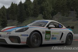 Seka Carsport powered by No Fear Energy Drink - Porsche 718 Cayman GT4 Clubsport MR