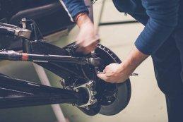 Ophanging en remschijf Peugeot 3008DKR Maxi