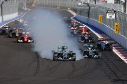 Start GP van Rusland