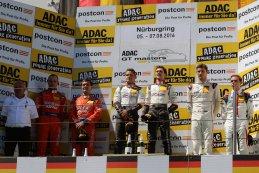 Podium Race 2 ADAC GT Nürburgring