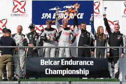 2018 Spa Euro Race Podium Belcar 5