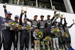 Algemeen Podium TCR Benelux Belcar Trophy 2017