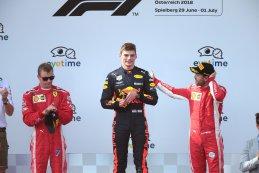 Podium GP Oostenrijk 2018