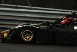 Nicola en Stefano De Val op de Bas Koeten Racing Wolf GB08/2013