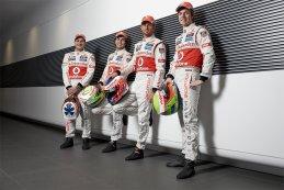 Gary Paffett - Sergio Perez - Jenson Button - Oliver Turvey