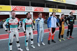 Audi-rijders Gordon Shedden - Jean-Karl Vernay - Fred Vervisch - Aurélien Panis - Denis Dupont - Nathanaël Berthon