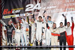 Podium Klasse 4 Race Promotion Night 2016