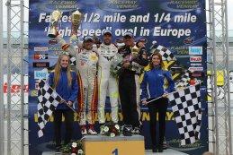 Podium Race 2 NASCAR Whelen Euro Series Elite 1 - Raceway Venray