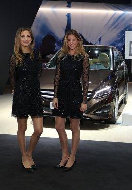 Ontvangst bij Mercedes