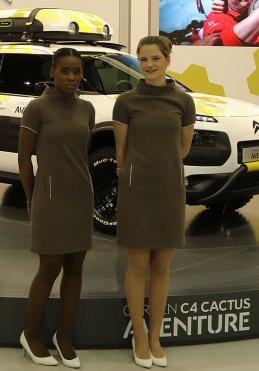 Ontvangst bij Citroën