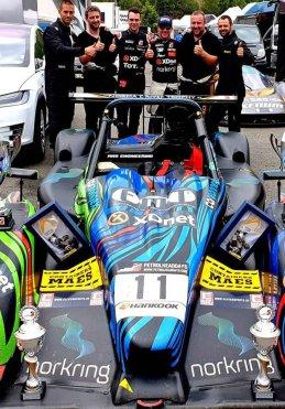 Krafft Racing - winnaars 2019 Belcar 25H Fun Cup