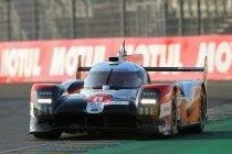 Na 1H: Toyota neemt kopstart, De Leener uit de wedstrijd